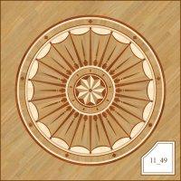 Паркетная розетка, арт. 1149