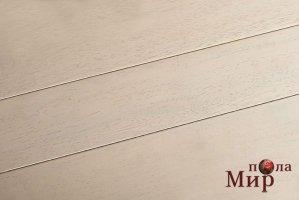 Экзотический паркет Brand Wood, Гевея Белое дерево лак