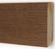 Плинтус деревянный шпонированный Kluchuk Модерн Дуб браун
