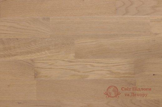 Паркетная доска Prima Floor, Дуб ледяной белый 3-х пол. фото №1