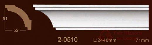 Карниз Classic Home арт. 2-0510 фото №1