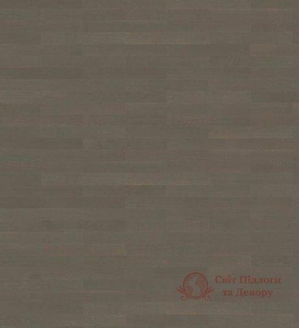 Паркетная доска Haro, колл. Allegro 4000 Strip, Дуб графит серый 540137 фото №1