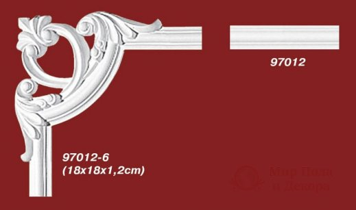 Угловой элемент Decomaster арт. 97012-6 фото №1