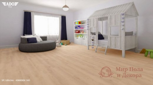 Виниловая плитка SPC Ado Floor Fortika, Admirinda 1403 фото №2