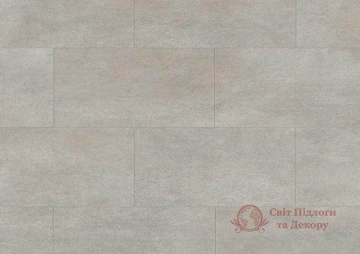 Виниловый пол Quick-Step Ambient Glue Plus, Бетон тёплый серый AMGP40050 фото №1