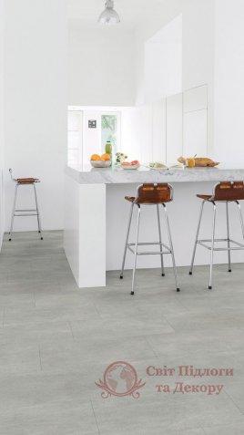Виниловый пол Quick-Step Ambient Glue Plus, Бетон тёплый серый AMGP40050 фото №2