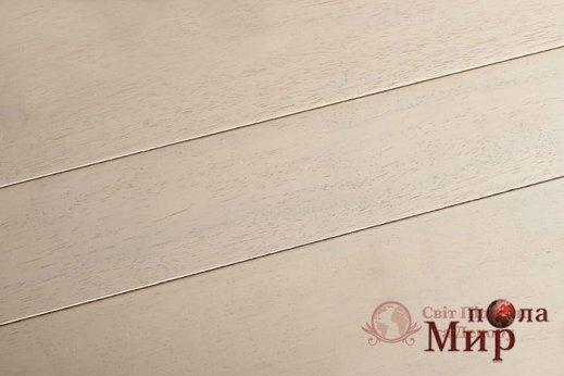 Экзотический паркет Brand Wood, Гевея Белое дерево лак фото №1