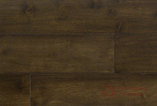 Паркетная доска Brand Wood, Гевея Brown гладкая 1-но пол. фото №1