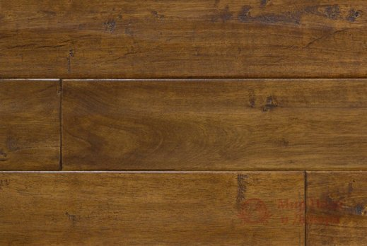Паркетная доска Brand Wood, Гевея Red гладкая 1-но пол. фото №1