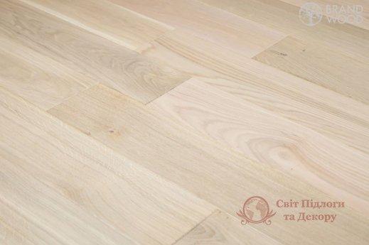 Паркетная доска Brand Wood, Дуб Белый D08 (прозрачный, теплый) фото №2