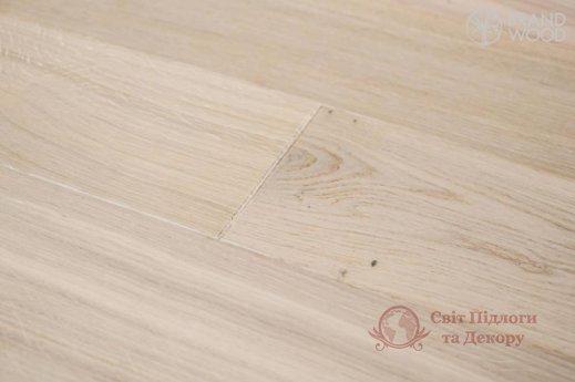 Паркетная доска Brand Wood, Дуб Белый D08 (прозрачный, теплый) фото №3