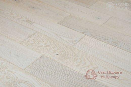 Паркетная доска Brand Wood, Дуб Белый D28 (прозрачный, холодный) фото №2