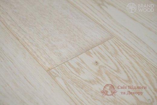 Паркетная доска Brand Wood, Дуб Белый D28 (прозрачный, холодный) фото №3