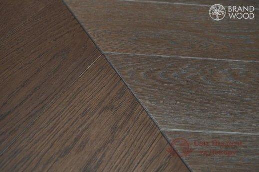 Паркетная доска Brand Wood, Дуб Chevron 120 D-52 фото №2