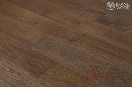 Паркетная доска Brand Wood, Дуб Коричневый D52 (темный) фото №2