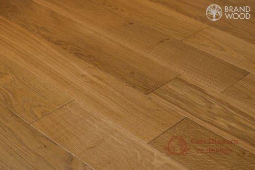 Паркетная доска Brand Wood, Дуб Бежевый D57 (средний) фото №3