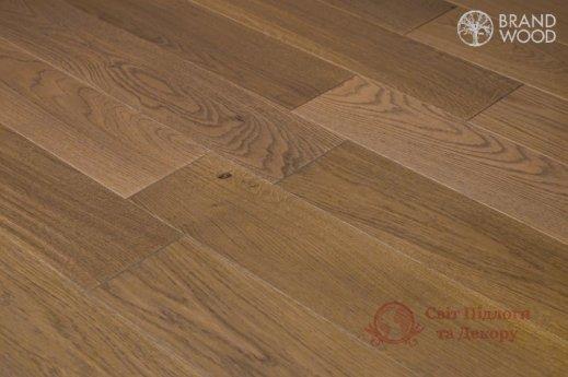 Паркетная доска Brand Wood, Дуб Бежевый D69 (темный) фото №3