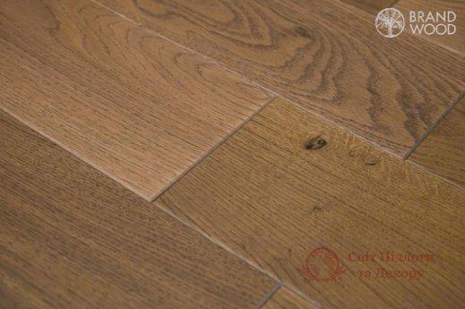 Паркетная доска Brand Wood, Дуб Бежевый D69 (темный) фото №2