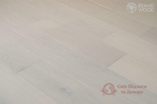 Паркетная доска Brand Wood, Дуб Белый D70 (холодный) фото №3