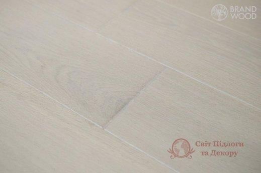 Паркетная доска Brand Wood, Дуб Белый D70 (холодный) фото №1