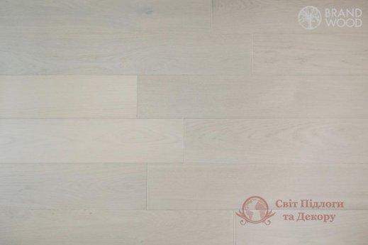 Паркетная доска Brand Wood, Дуб Белый D70 (холодный) фото №2