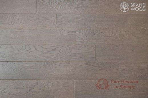 Паркетная доска Brand Wood, Дуб Серый D80 (средний) фото №1