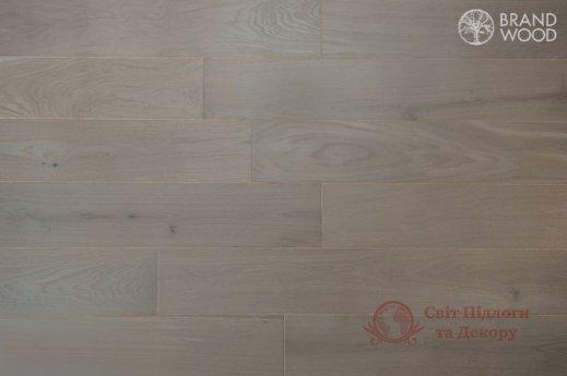 Паркетная доска Brand Wood, Дуб Серый D84 (светлый) фото №1