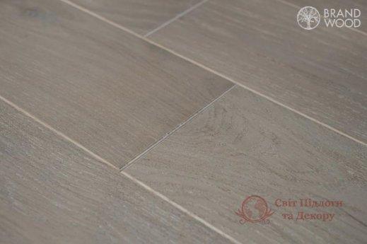 Паркетная доска Brand Wood, Дуб Серый D84 (светлый) фото №2