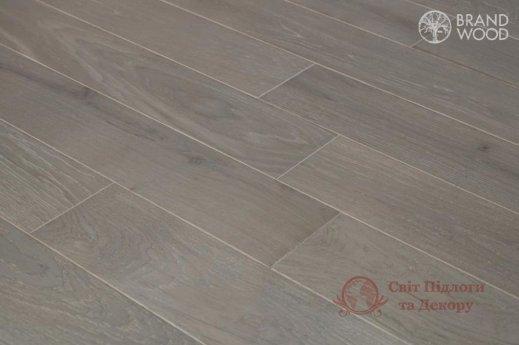 Паркетная доска Brand Wood, Дуб Серый D84 (светлый) фото №3