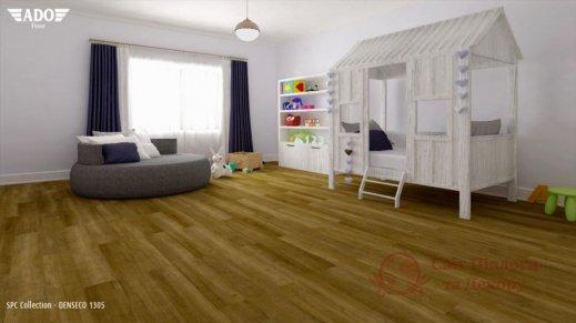 Виниловая плитка SPC Ado Floor Fortika, Denseco 1305 фото №2