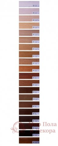 Плинтус деревянный шпонированный «ДЕ плинтус» 60x18 фото №1