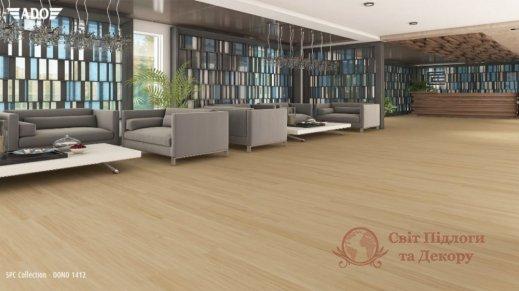 Виниловая плитка SPC Ado Floor Fortika, Dono 1412 фото №2