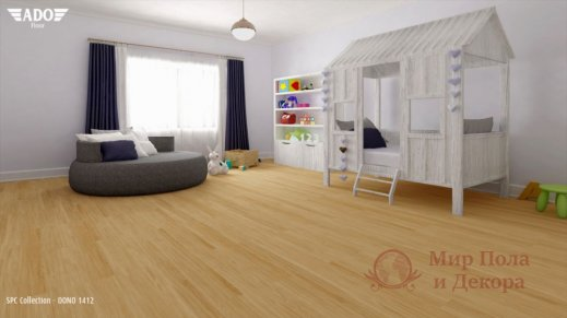 Виниловая плитка SPC Ado Floor Fortika, Dono 1412 фото №3