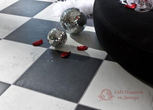 Ламинат Faus, колл. Industry Tiles, Chess Black DRFB фото №2