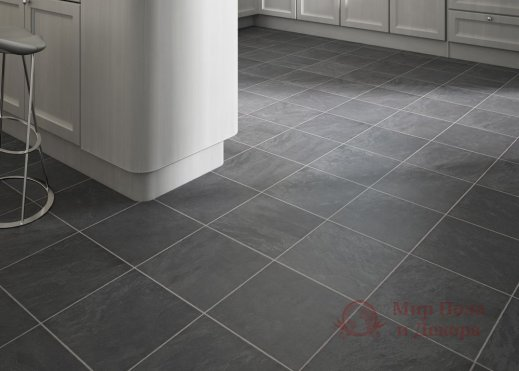 Ламинат Faus, колл. Industry Tiles, Pompei Negro 4695 фото №2