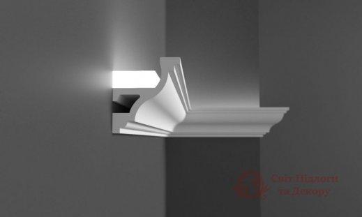 Карниз под LED освещение Grand Decor, арт. KH 905 фото №2