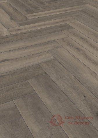Ламинат Herringbone, Дуб темно-коричневый 3860 фото №1