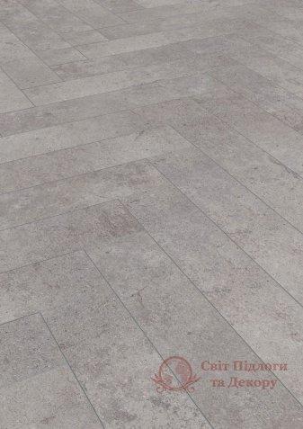 Ламинат Herringbone, Дуб цемент бетон 4739 фото №1