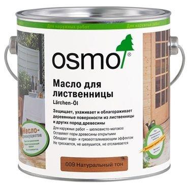 Масло для лиственницы Osmo Terrassen–Ol (2,5 л) фото №1