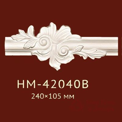 Декоративная вставка Classic Home арт. HM-42040B фото №1