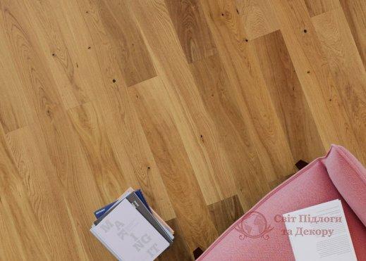Паркетная доска Rezult, Дуб Жанну 1-но пол. фото №3
