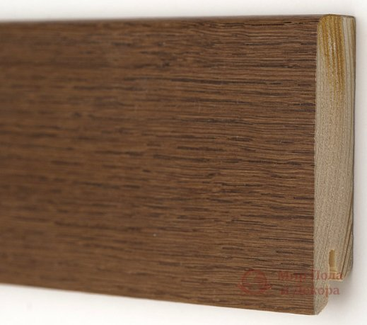 Плинтус деревянный шпонированный Kluchuk Модерн Дуб браун фото №1