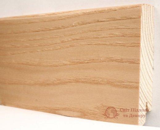 Плинтус деревянный шпонированный Kluchuk Модерн Ясень натур фото №1