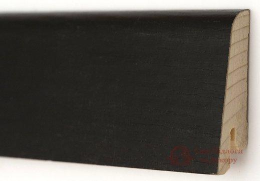 Плинтус деревянный шпонированный Kluchuk Евро Дуб черный фото №1