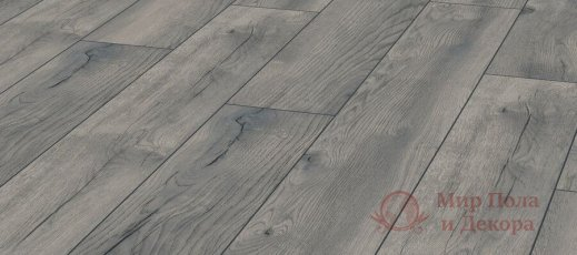Ламинат Kronotex, колл. Exquisit, Дуб Петерсон серый D 4765 фото №2