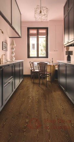 Ламинат Quick Step, колл. Eligna, Дуб Gold Metallic Ceruse EL 3466 фото №3