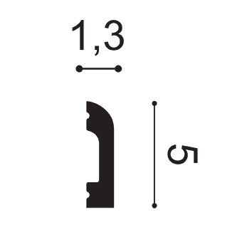 Профиль многофункциональный Orac Decor, колл. Axxent арт. DX182-2300 фото №2