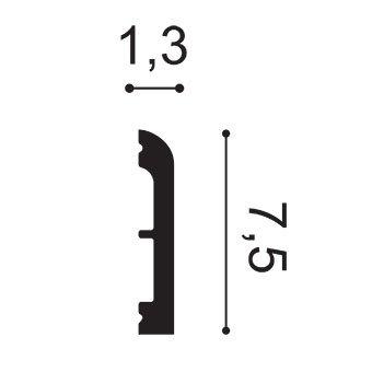 Профиль многофункциональный Orac Decor, колл. Axxent арт. DX183-2300 фото №2