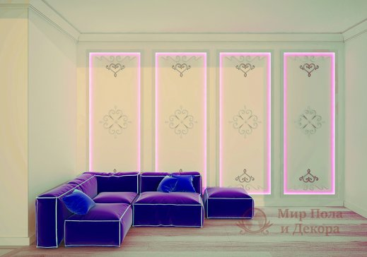 Комплект орнаментов Art Decor арт. A 696 L/R (4 шт) фото №2