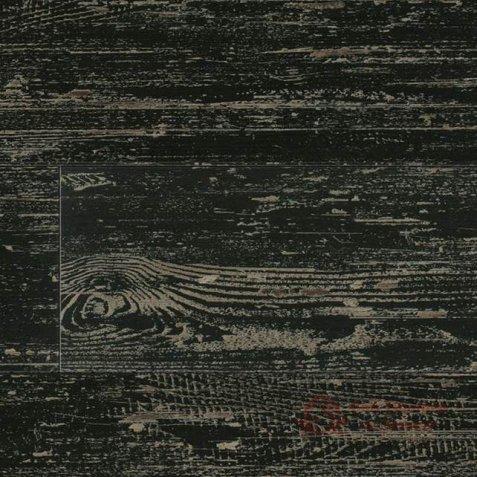 Виниловая плитка LG Decotile, Сосна окрашенная черная DSW 2367 фото №1